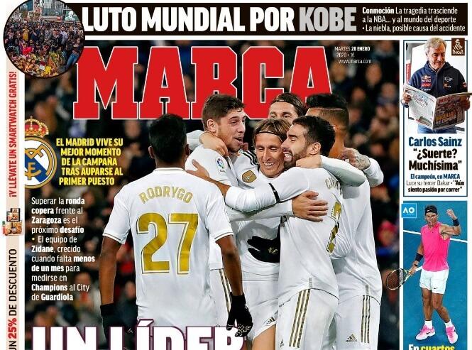 Portadas Diarios Deportivos Martes 28