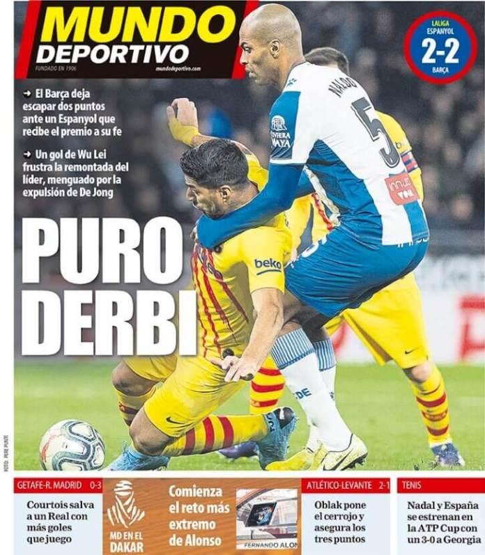 Portada Mundo Deportivo Hoy