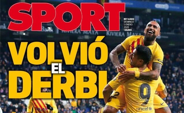 Portadas Diarios Deportivos Domingo 5