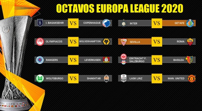 Octavos Europa League 2020