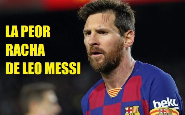 Messi peleado con el Gol