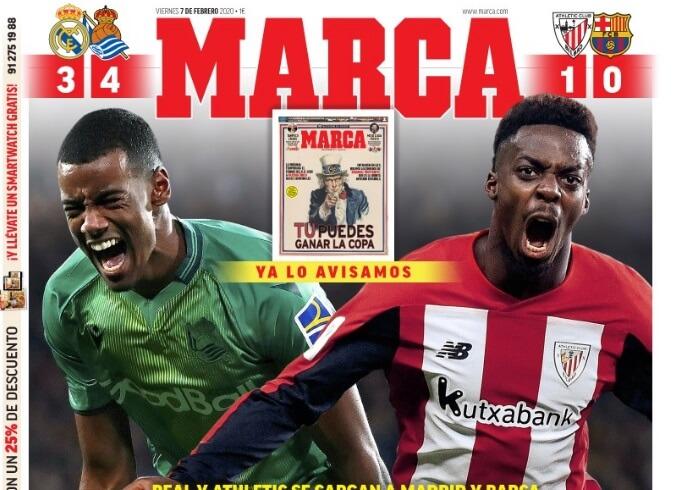Portadas Diarios Deportivos Viernes 7/02/2020