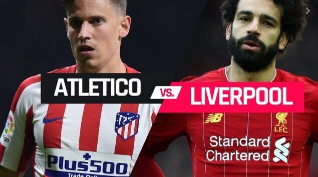Alineación Atlético-Liverpool