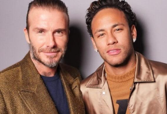 Beckam y Neymar