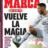 Portadas Diarios Deportivos Domingo 16/02/2020 | Marca, As, Sport, Mundo Deportivo
