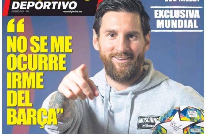 Portadas Diarios Deportivos Jueves 20/02/2020