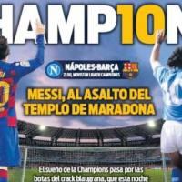 Portadas Diarios Deportivos Martes 25/02/2020 | Marca, As, Sport, Mundo Deportivo