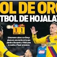 Portadas Diarios Deportivos Miércoles 26/02/2020 | Marca, As, Sport, Mundo Deportivo