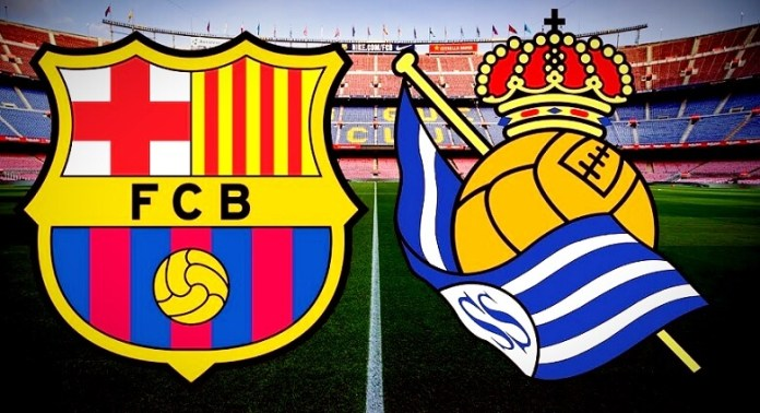 Alineación Barcelona-Real Sociedad Jornada 27