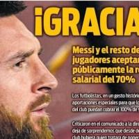 Portadas Diarios Deportivos Martes 31/03/2020 | Marca, As, Sport, Mundo Deportivo