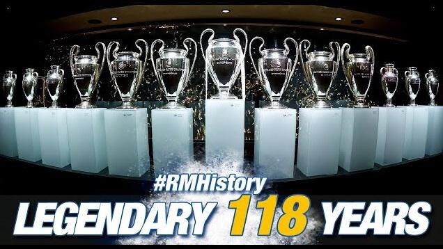 El Real Madrid cumple 118 años