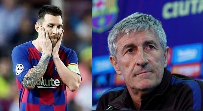 El vestuario del Barça no cree en Setién