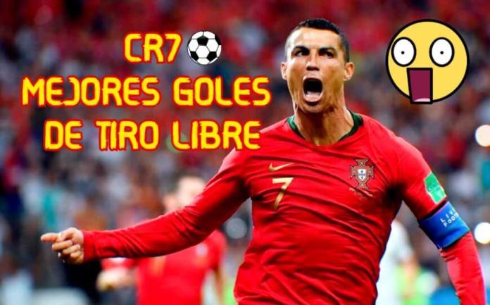 Los Mejores Goles de Tiro Libre de Cristiano Ronaldo