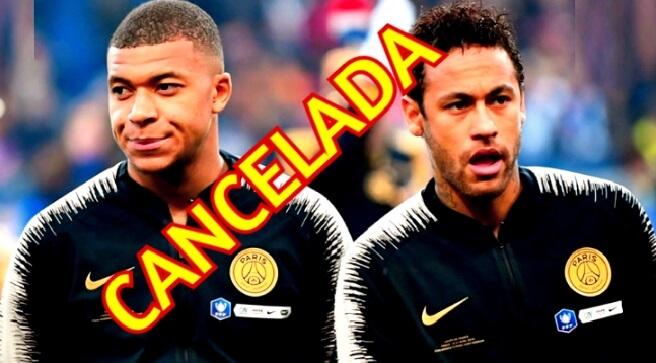 La Liga Francesa Cancelada