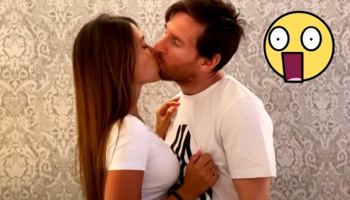 Messi y Antonella a los Besos 'Antes que el Mundo se Acabe'
