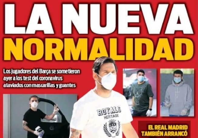 Portadas Diarios Deportivos Jueves 7/05/2020