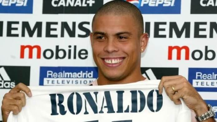 Ronaldo Nazario ficha por el real madrid