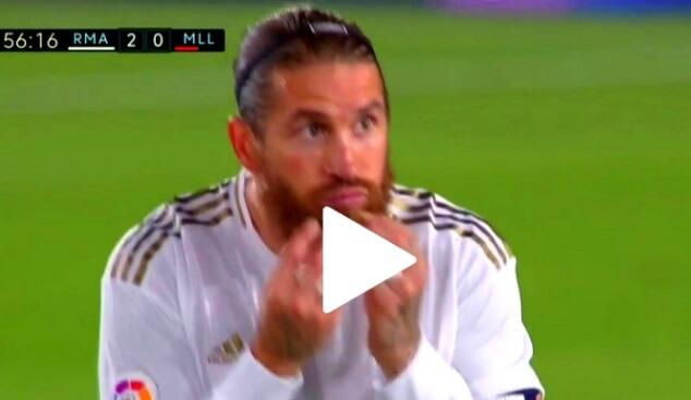 ¡¡¡Golazo de Sergio Ramos de Tiro Libre!!!