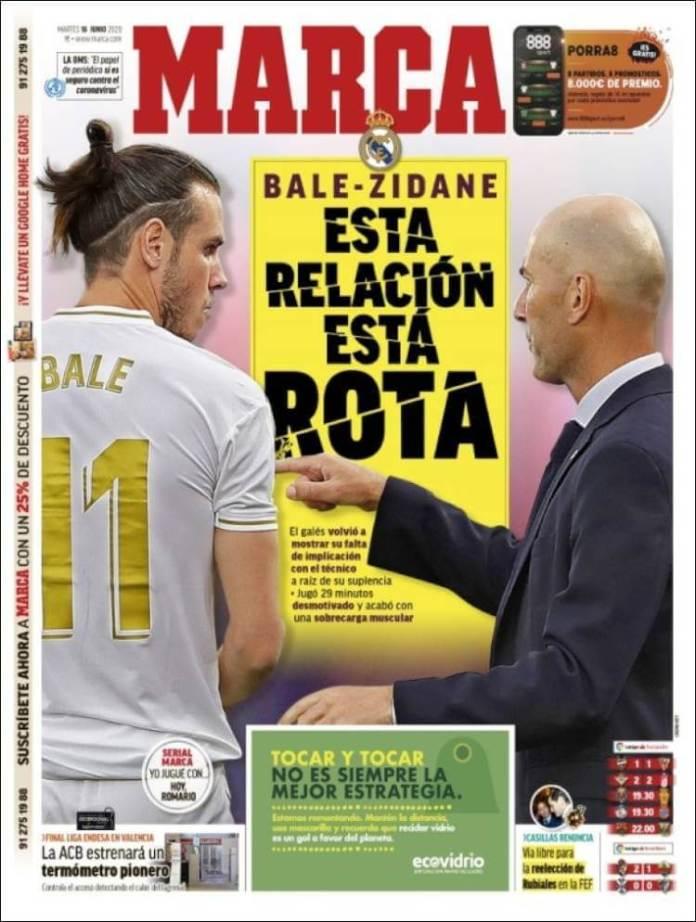 Portadas Diarios Deportivos Martes 16/06/2020