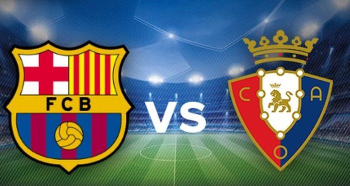 Alineación Barcelona-Osasuna Jornada 37