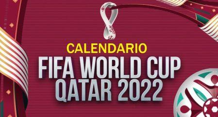 Calendario Mundial Qatar 2022 | Fixture completo FIFA World Cup