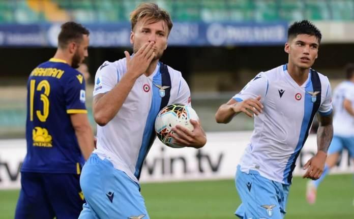 ¡Hat-Trick de Immobile al Verona! Ciro quiere la Bota de Oro