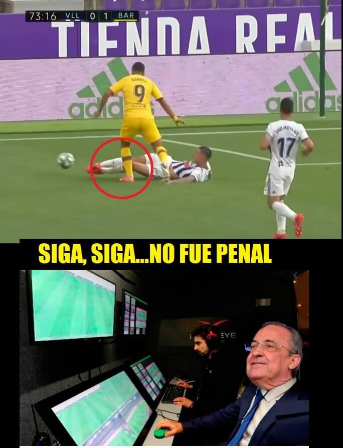 Memes Valladolid-Barcelona 2020