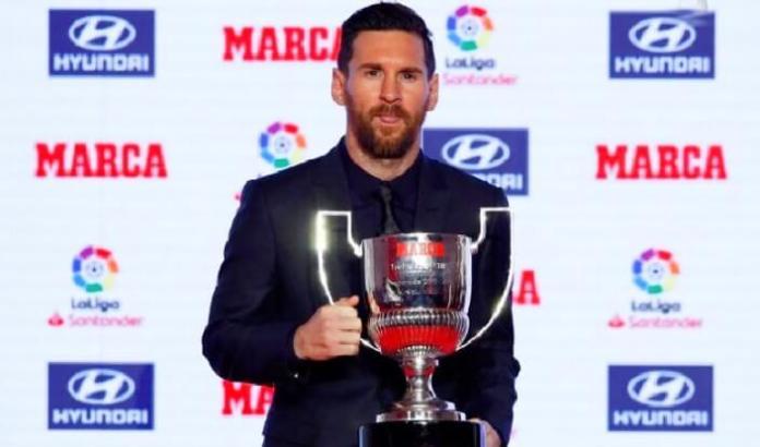 Leo Messi Pichichi de la Liga Española 2020