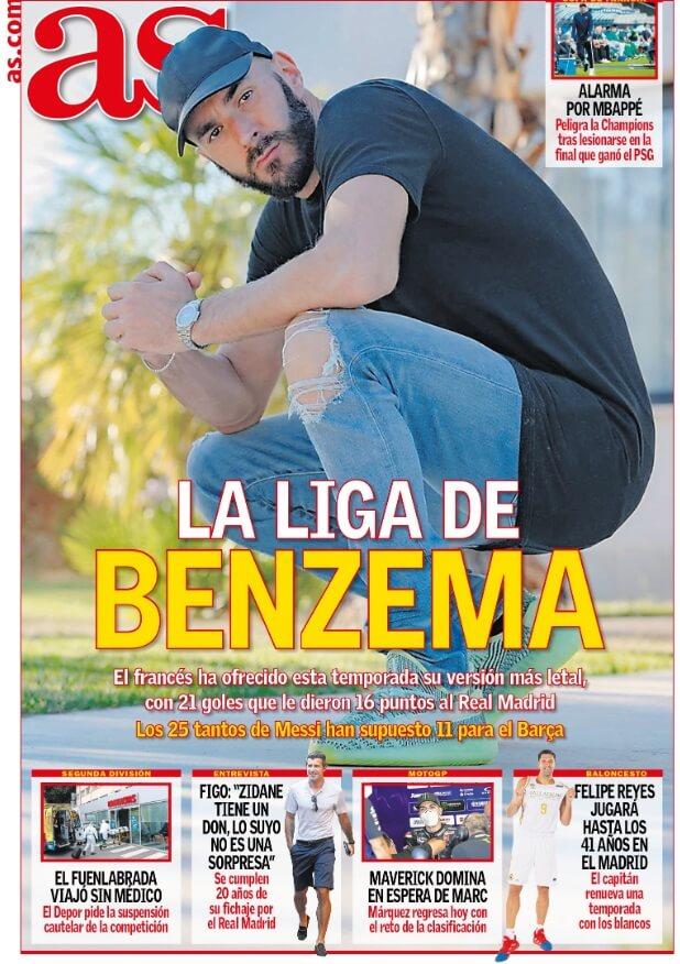 Portadas Diarios Deportivos Sábado 25/07/2020