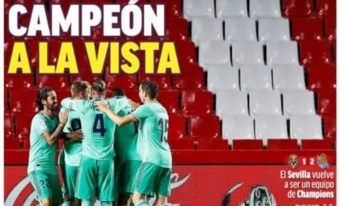 Portadas Diarios Deportivos Martes 14/07/2020
