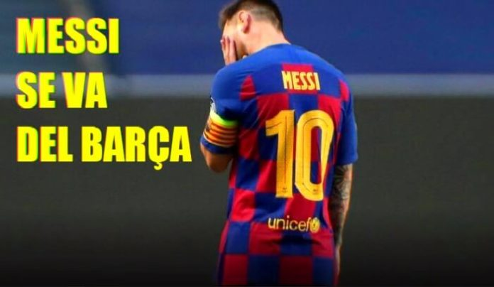 ¡Messi quiere irse del Barça! El fin de una era Gloriosa