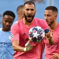 Gol de Benzema para igualar el partido ante el City