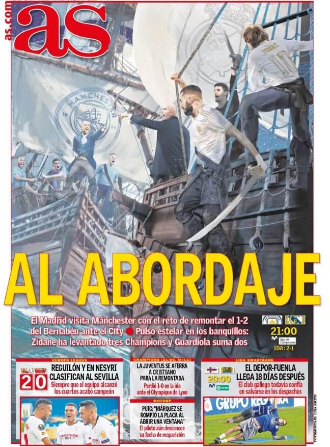 Portadas Diarios Deportivos Viernes 7/08/2020