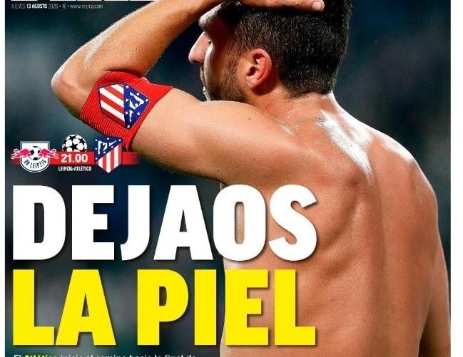 Portadas Diarios Deportivos Jueves 13/08/2020