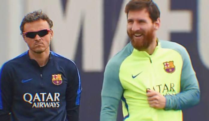 Luis Enrique sobre Messi: