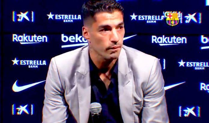 Luis Suárez se despide del Barça entre lágrimas