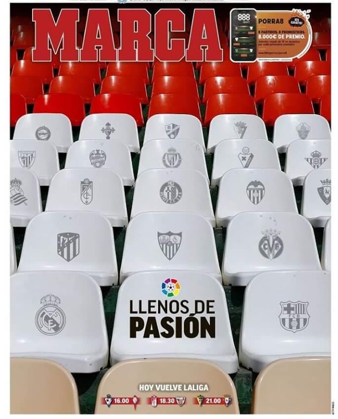 Portadas Diarios Deportivos Sábado 12/09/2020
