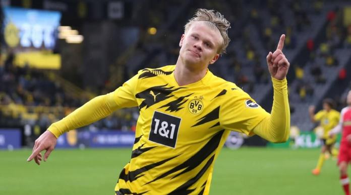 El Dortmund destroza al Friburgo con doblete de Haaland