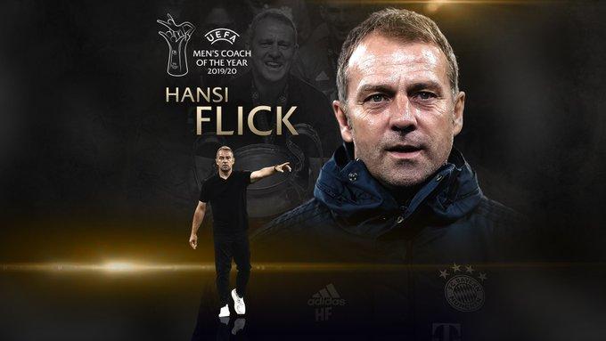 Hansi Flick Mejor Director Técnico 2020