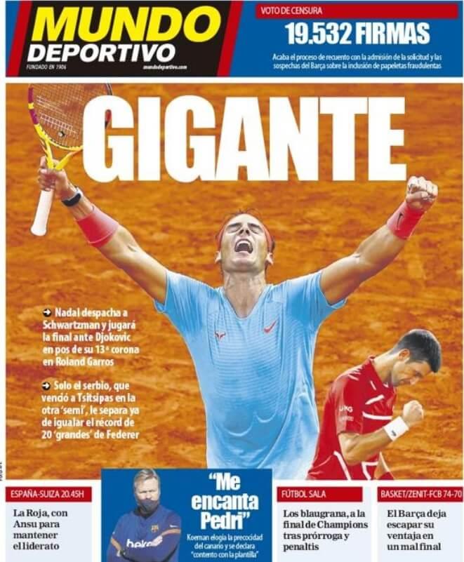 Portadas Diarios Deportivos Sábado 10/10/2020