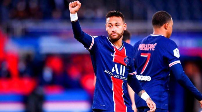 El PSG golea 6-1 al Angers | Brillan Neymar y Mbappé