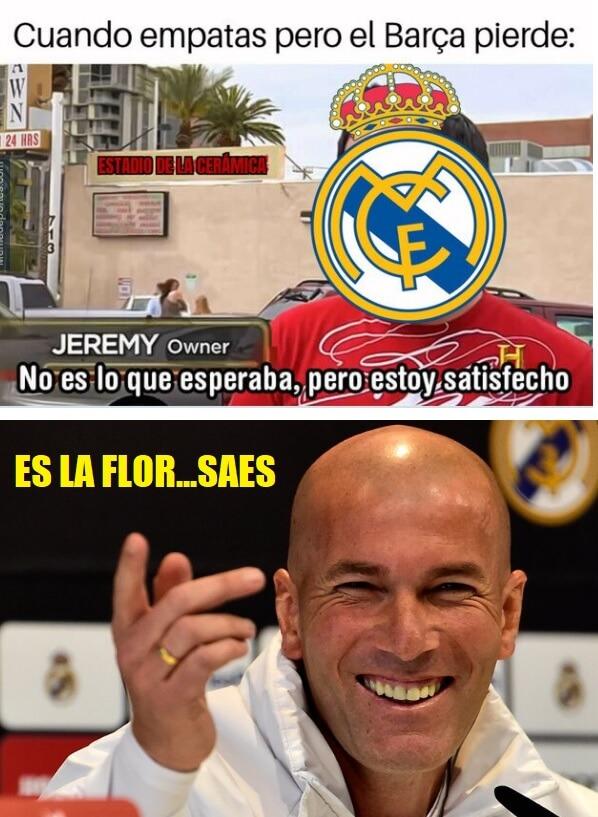 Memes Villarreal-Real Madrid 2020