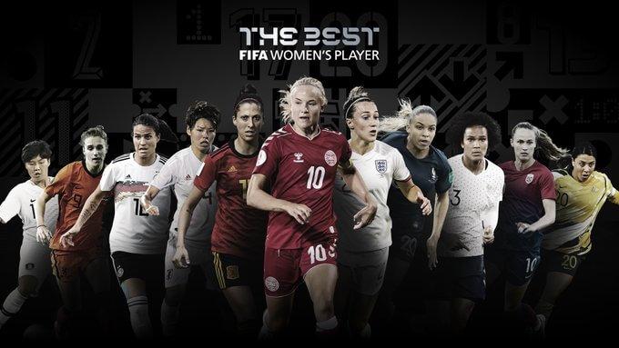 Las 11 candidatas al Premio The Best al mejor jugadora 2020