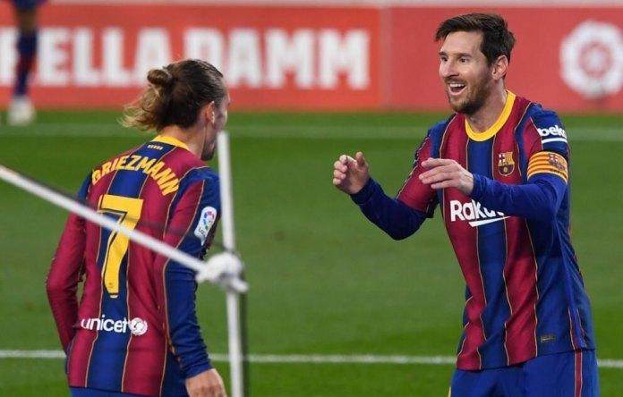 Doblete de Messi en la manita del Barça al el Betis