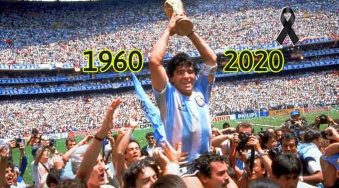 Muere Diego Armando Maradona de un paro cardíaco