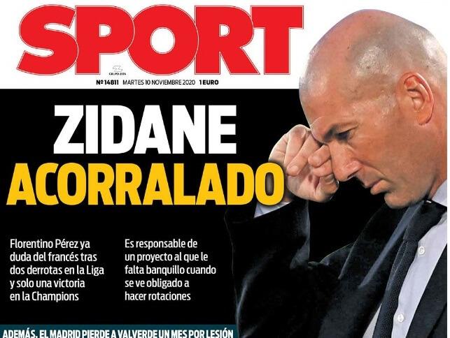 Portadas Diarios Deportivos Martes 10/11/2020 | Marca, As, Sport, Mundo Deportivo