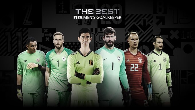 Los 6 porteros nominados al FIFA The Best 2020