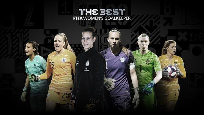 Las 6 Candidatas a mejor Portera 2020 fifa the best