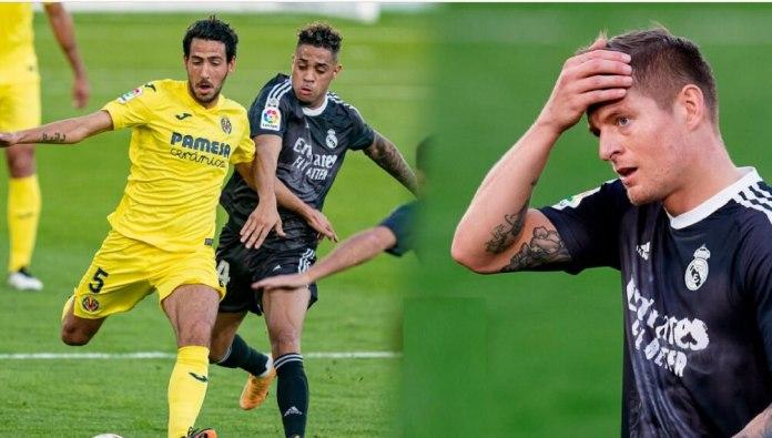El Madrid pincha ante el Villarreal en Liga