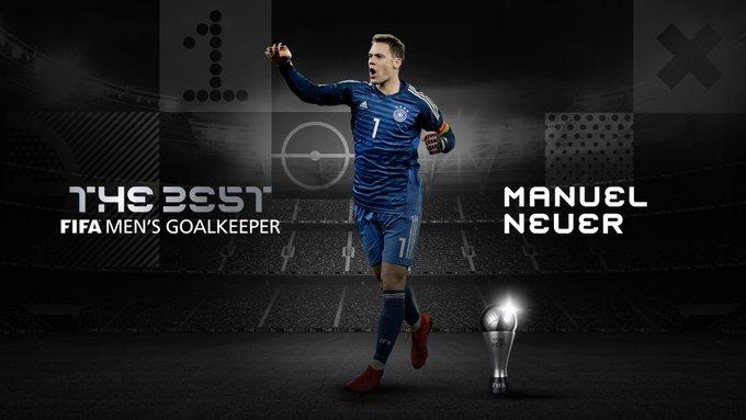 Manuel Neuer The Best 2020   Mejor portero del año